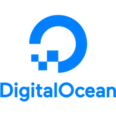 Logo of DigitalOcean